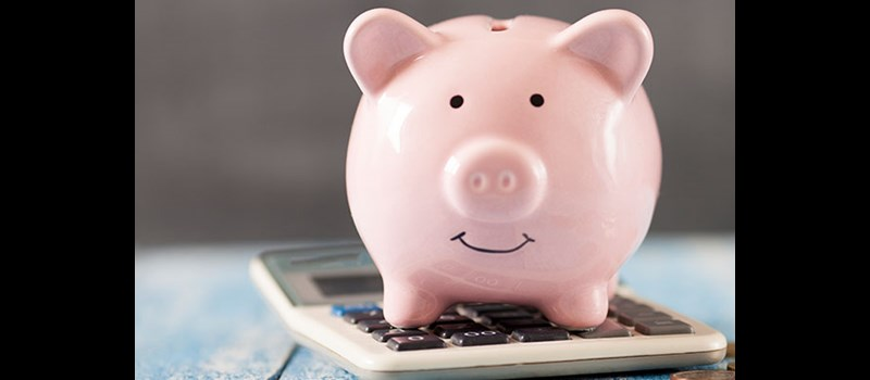 piggy bank calculator pennies budget